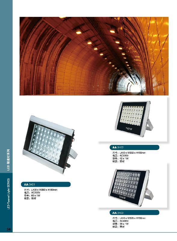 供应LED隧道灯系列图片