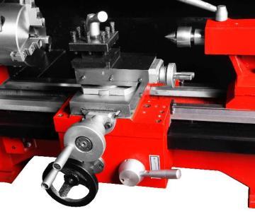 供应台式小型220V车床桌上金属齿轮车床微型数显无极变速C6图片