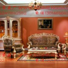 供应郑州 欧式布艺沙发组合新古典田园大户型沙发