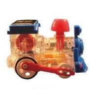 太阳能玩具太阳能火车图片