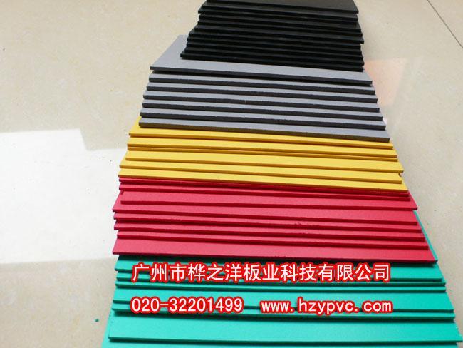 中山深圳5毫米PVC木灯饰发泡板销售