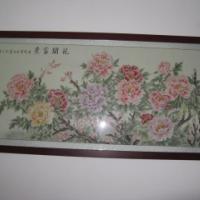 工笔艺术玻璃国画系列广州供应商