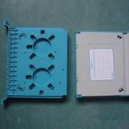 FC尾纤熔纤盘12芯ODF一体化托盘图片