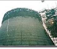 西安冷却塔防水堵漏维修图片