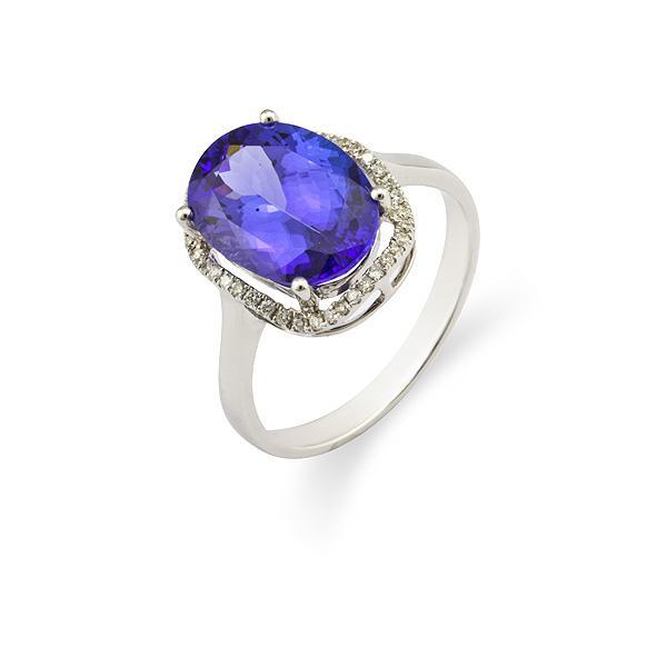供应坦桑石戒指