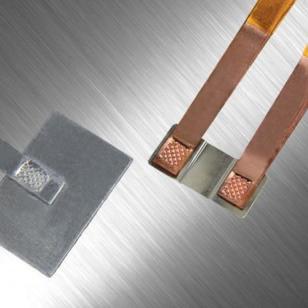 电池极片专用超声波焊接设备图片