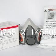 3M6200半面形防护防毒面具图片