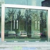 金地片区地弹簧玻璃门图片