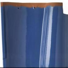 大西瓦孔雀蓝-1 热销朱砂红古瓦欧式瓦批发