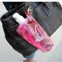 折叠塑料水袋/旅行水袋/折叠水壶