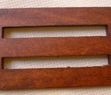 供应木质日字扣