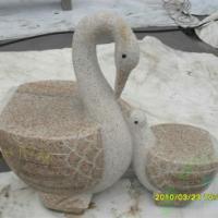 天鹅石雕工艺品 石雕工艺品 龙年吉祥物 送礼自用最佳