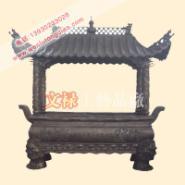 寺庙铜香炉图片