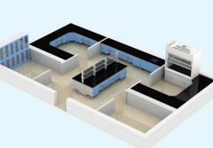 青岛生产制造实验台通风橱通风柜厂图片