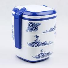 供应南京饭盒、保温饭盒、青花手提饭盒、中国红饭盒等广告促销礼品