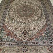 丝绸地毯/真丝地毯/手工丝毯图片