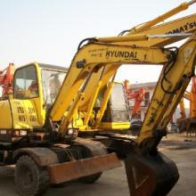 供应2008年二手现代60轮胎挖掘机南京2手60轮胎式挖掘机价格