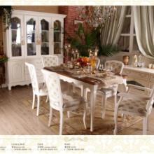 供应白色实木家具田园风格家具