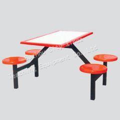 北京烧烤餐桌椅厂家定做快餐店餐桌图片
