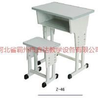 供应云南方管圆管课桌椅厂家