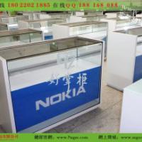 供应诺基亚手机柜台定做厂家手机展示柜