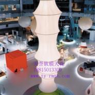 供应济南吊顶天花供应软膜天花装饰室内透光膜喷绘膜灯箱膜
