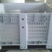 1210网格卡板箱有孔箱式托盘图片