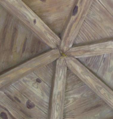 水泥仿木纹图片/水泥仿木纹样板图 (4)