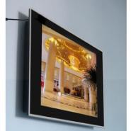 专业生产销售19寸宽屏楼宇广告机图片