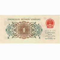 第三版人民币背绿水印壹角图片