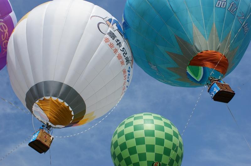 供应广州热气球广告热气球租赁图片