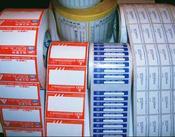 供应透明龙标签/卷装瓶身标贴/四色印刷/UV轮转机印刷/合成纸标签/铜版纸不干胶/材料粘性强/印刷质量好颜色明亮不掉墨批发