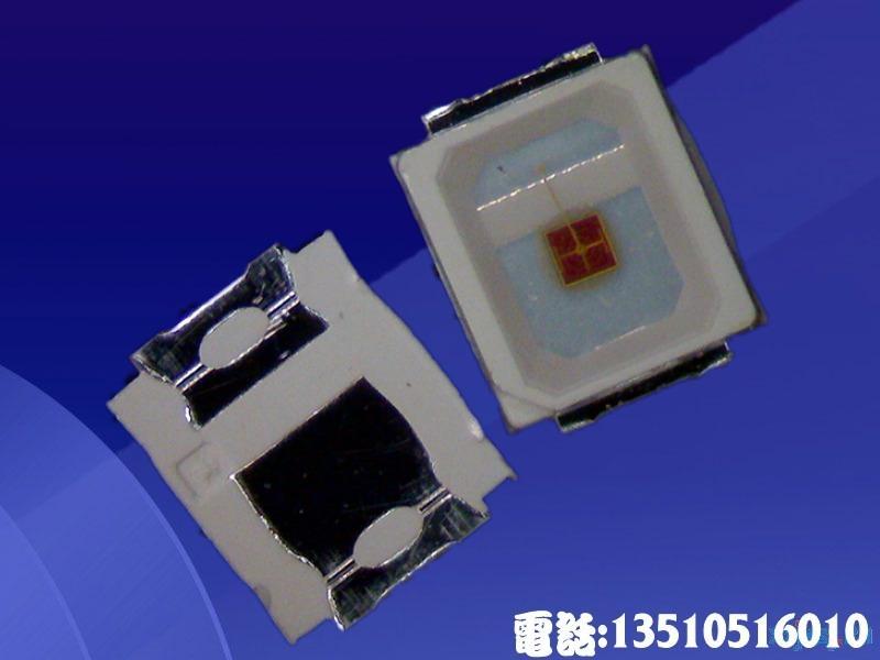 供应2835红光LED贴片灯珠0.5W性能好高品质低衰减10-15LM正 品芯片封装