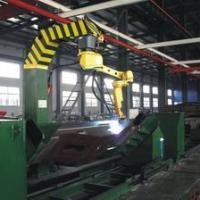 供应机车枕横梁机器人焊接工作站