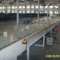 供应自行车组装线链板输送机