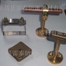 供应接地固定铜夹,铜夹子导电,导电铜夹子,接地棒铜夹子,接地棒扁带夹