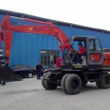 供应12吨轮胎式挖掘机 中型轮胎挖掘机 轮胎中型挖掘机