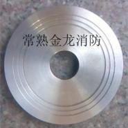 DN50管道法兰不锈钢减压孔板图片
