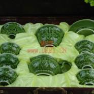 活瓷龙头雕陶瓷茶具图片