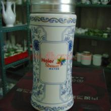 供应繁花似锦陶瓷保温杯
