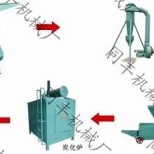 无烟木炭机竹炭设备秸秆烧炭机械包安装包运费回收木炭价格45800元可分期付款图片