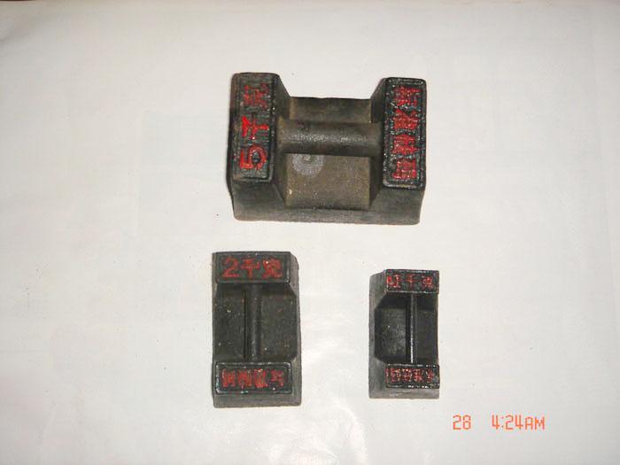 西安咸阳宝鸡渭南M1级20kg铸铁砝码