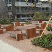 户外防腐木景观工程施工及设计图片
