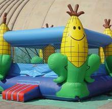 供应儿童充气气垫床郑州充气玩具厂大型充气蹦蹦床小型弹跳气包床价格多钱批发