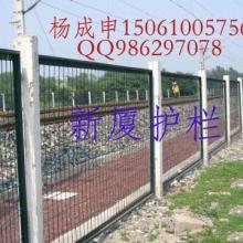 浸塑热镀锌隔离栏,防护网,铁路防护栏,高速防护网,护栏003批发