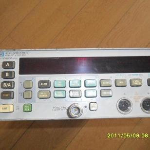 维修HP438A功率计图片