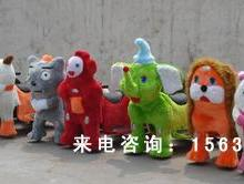 供应12佳乐奇豪华毛绒玩具车毛绒动物电瓶车儿童毛绒玩具车电动动物图片