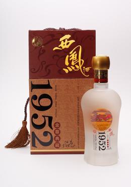 供应中国名酒西凤酒1952金尊典藏白酒价格陕西名酒