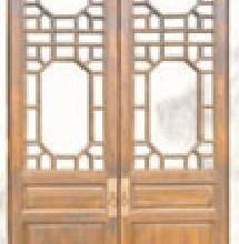 供应仿古门窗生产供应 仿古门窗生产供应红木屏风批发非洲花梨木装饰花格 实木花格 屏风批发