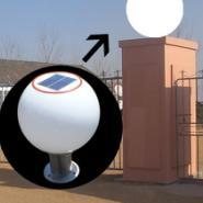太阳能墙头灯图片